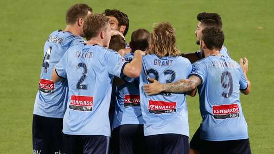 Sydney halted Perth's charge at the top. GOAL