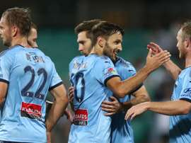 Sydney defeated Melbourne Victory with a late goal. GOAL
