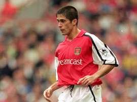 Sylvinho - Arsenal. Goal