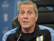 Tabarez believes his side deserve to be at the World Cup. GOAL