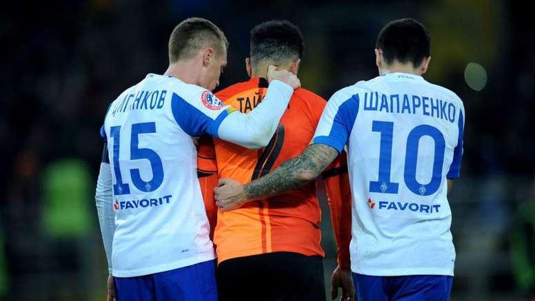 Willian demands 'proper sanctions' after Dynamo Kiev fans racially abused Taison. GOAL
