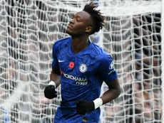 Chelsea striker Tammy Abraham could return against Aston Villa on Wednesday. GOAL