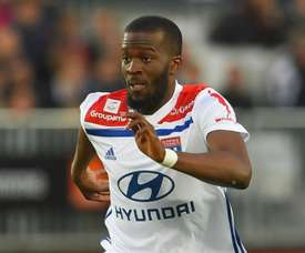 Ndombele is happy to hear Tottenham's interest in him. GOAL