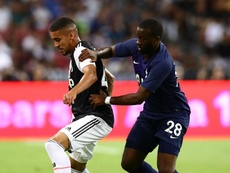 Tanguy Ndombele made his Spurs debut against Juventus. GOAL