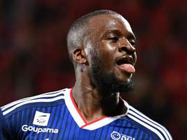 Tanguy Ndombele will be leaving Lyon in the summer. GOAL