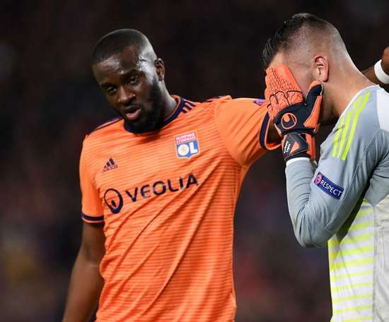 Ndombele suffered disappointment against Barcelona. GOAL