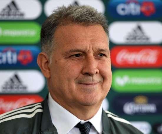 Ex-Argentina e Barcelona, Tata Martino é o novo técnico da seleção mexicana.