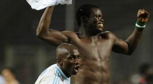 Le Nigérian est plus connu pour sa frappe que pour sa finesse. goal