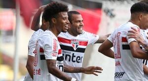 Goleada do São Paulo confirma ideia de Dani Alves sobre Diniz. EFE