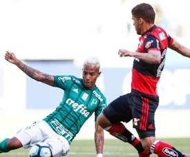 'Fla' fez má exibição ante o Palmeiras. Goal