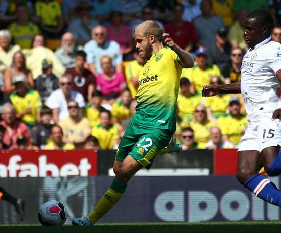 Pukki has scored in every one of his first three PL games. GOAL
