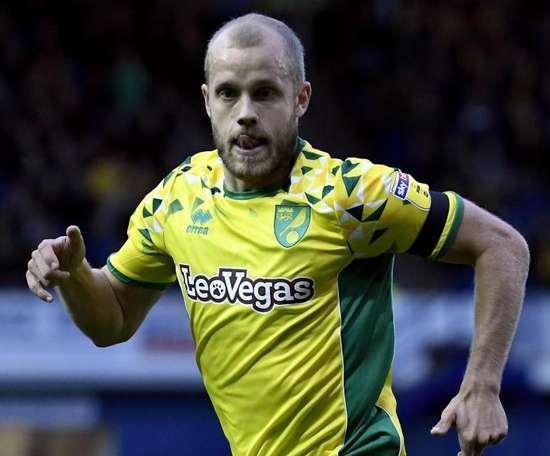 Pukki scored twice for Norwich. GOAL