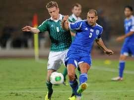 Tel Ben Haim, lors d'un match avec le Tel Aviv. AFP