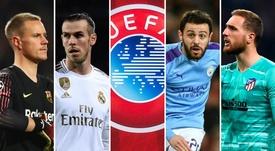 Os planos da Uefa para a retomada da Liga dos Campeões. EFE