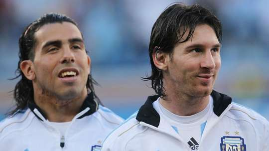 evez relishing Messi reunion