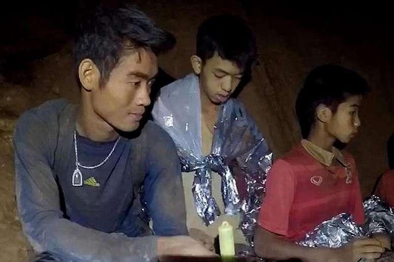 Soulagement en Thaïlande. Goal