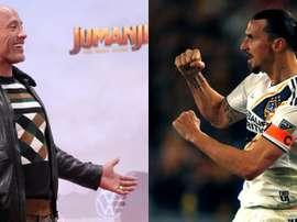 Ibrahimovic a sorpresa: 'Vorrei essere in un film con The Rock, gli spacco la faccia...'