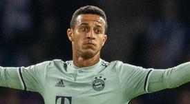 Thiago Alcantara Bayern Munich.