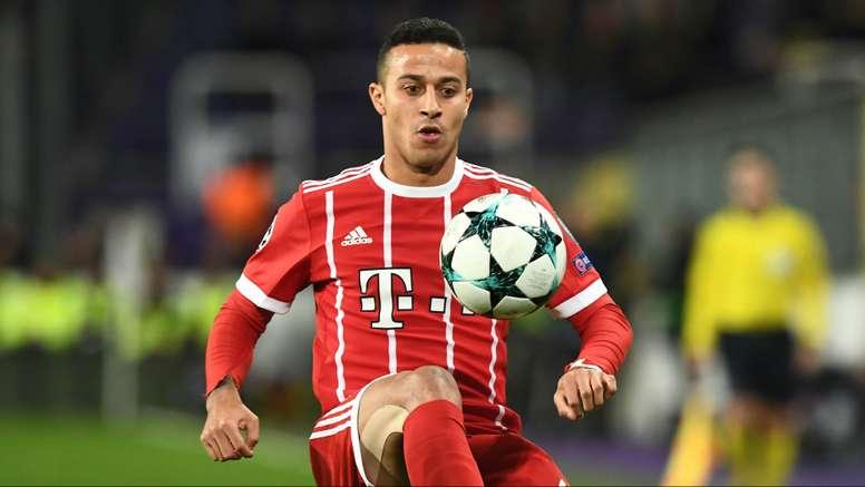 'Bayern não vende Thiago Alcântara'.Goal