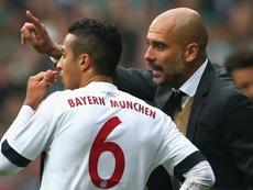 Thiago Alcântara deixou vários elogios a Pep Guardiola. Goal