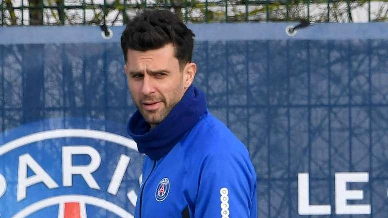 Le PSG peut remporter la Ligue des champions selon Thiago Motta. AFP