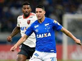 Thiago Neves Rodinei Cruzeiro Flamengo Copa Libertadores. Goal