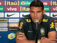Thiago Silva é o jogador mais veterano do time de Tite. Goal