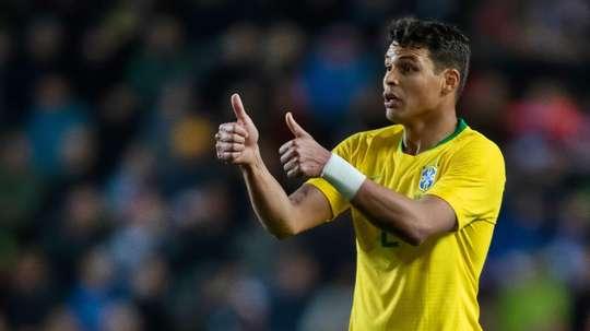 Thiago Silva. Goal