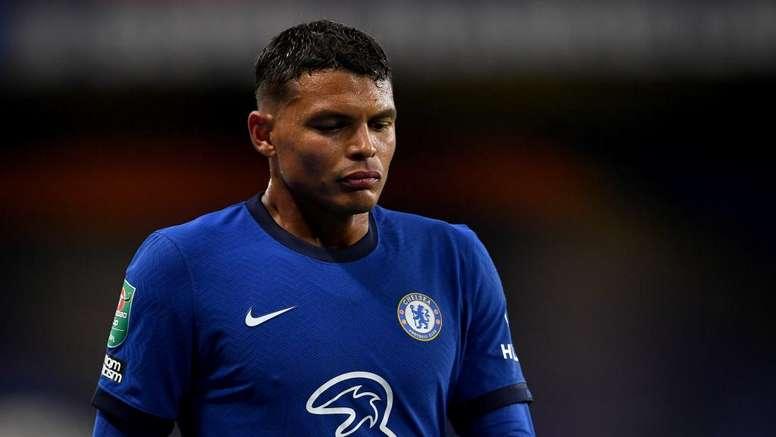 Thiago Silva n'est pas à Chelsea pour faire le touriste. goal