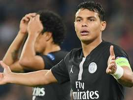 Thiago Silva will not feature for PSG in their cup final this Saturday. GOAL