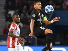 Thiago Silva UEFA Champions League . AFP