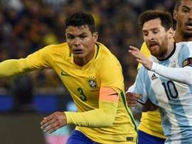 Silva contre Messi. AFP