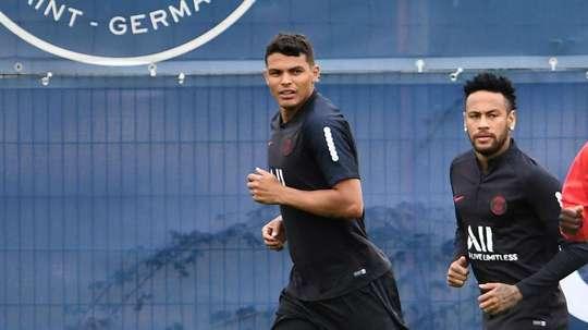 Thiago Silva assure que Neymar sera présent contre Dortmund. GOAL