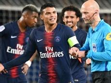 Thiago Silva PSG Lyon Ligue . Goal