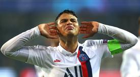 PSG - Thiago Silva : 'Je serai Parisien à vie'. AFP