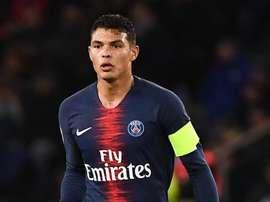 PSG - Thiago Silva et Idrissa Gueye absents contre Reims. AFP