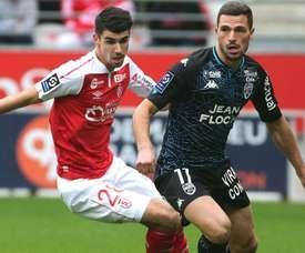 Lorient l'emporte sur Reims. AFP