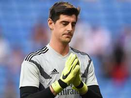 Courtois does not feature against Celta Vigo. GOAL