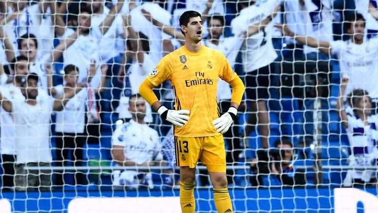 Zidane explica problema curioso que tirou Courtois contra o Brugge. Goal
