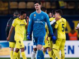 Courtois bemoans missed chances after Real Madrid draw. Goal