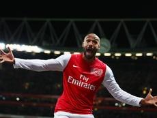 Henry dans la légende. Goal