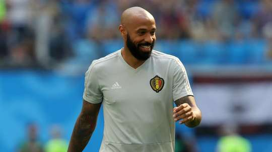 Belgium assistant coach Thierry Henry has yet to be contacted about the Villa vacancy. GOAL