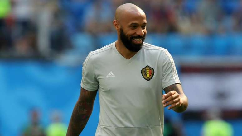 Thierry Henry has been linked to jobs at Bordeaux, Monaco and Aston Villa in recent months. GOAL