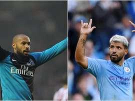 Sergio Aguero has now scored more Premier League goals than Thierry Henry. GOAL