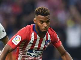 Lemar joined Atletico Madrid from Monaco. GOAL