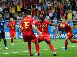 A Bélgica assume o topo. Goal