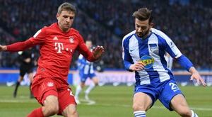 Le Bayern débute bien l'année à Berlin. GOAL