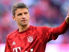 Müller reste vague sur son avenir. AFP