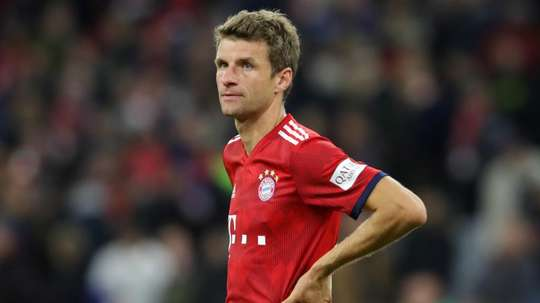Thomas Muller has not been in good form of late. GOAL