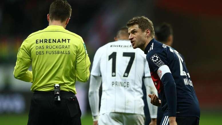 Muller has spoken out in support of VAR. GOAL
